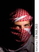 Купить «Man in a Keffiyeh», фото № 18968303, снято 16 июля 2019 г. (c) easy Fotostock / Фотобанк Лори