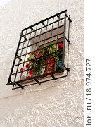 Купить «Andalusian window», фото № 18974727, снято 16 декабря 2019 г. (c) easy Fotostock / Фотобанк Лори