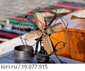 Купить «old retro ventilator», фото № 19077915, снято 18 октября 2019 г. (c) easy Fotostock / Фотобанк Лори