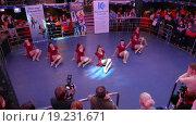 """Купить «Танцевальный фестиваль  """"Dance Star Festival""""», видеоролик № 19231671, снято 6 декабря 2015 г. (c) Серёга / Фотобанк Лори"""