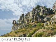 Гора Южная Демерджи. Крым (2015 год). Стоковое фото, фотограф Наталья Гармашева / Фотобанк Лори