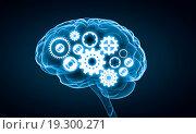 Купить «Digital human brain», иллюстрация № 19300271 (c) Sergey Nivens / Фотобанк Лори