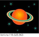 Купить «Saturn Planet illustration», фото № 19325963, снято 23 февраля 2020 г. (c) easy Fotostock / Фотобанк Лори