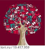 Купить «Music concept tree», фото № 19417959, снято 13 июля 2020 г. (c) easy Fotostock / Фотобанк Лори