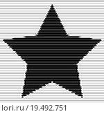 Купить «Abstract striped star backdrop», иллюстрация № 19492751 (c) PantherMedia / Фотобанк Лори