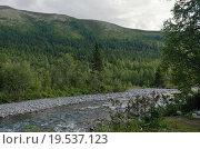 В долине реки Манараги. Стоковое фото, фотограф Сергей Серебряков / Фотобанк Лори