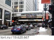 Чикаго, Иллинойс, США (2015 год). Редакционное фото, фотограф Корчагина Полина / Фотобанк Лори