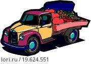 Купить «Truck loaded», фото № 19624551, снято 21 августа 2019 г. (c) easy Fotostock / Фотобанк Лори