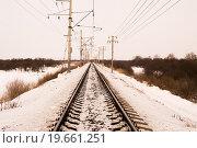 Железный путь. Стоковое фото, фотограф Виталий Азьмука / Фотобанк Лори