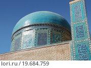 Купить «Купол мавзолея Усто Али Насафи», фото № 19684759, снято 22 сентября 2007 г. (c) Elizaveta Kharicheva / Фотобанк Лори