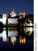 Купить «Novodevichy Convent», фото № 19871543, снято 30 марта 2020 г. (c) easy Fotostock / Фотобанк Лори