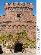 Купить «Wrangel Tower - fort of Koenigsberg. Kaliningrad», фото № 19888811, снято 19 февраля 2019 г. (c) easy Fotostock / Фотобанк Лори
