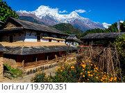 Купить «Ghandruk village in the Annapurna region», фото № 19970351, снято 16 июля 2019 г. (c) easy Fotostock / Фотобанк Лори