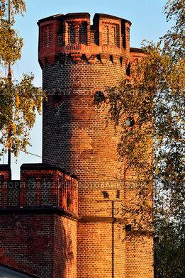 Купить «Friedrichsburg gate at sunset. Kaliningrad (former», фото № 20122215, снято 20 апреля 2019 г. (c) easy Fotostock / Фотобанк Лори