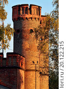 Купить «Friedrichsburg gate at sunset. Kaliningrad (former», фото № 20122215, снято 24 января 2019 г. (c) easy Fotostock / Фотобанк Лори