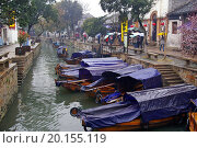 Купить «Tongli water village in China during spring», фото № 20155119, снято 22 марта 2008 г. (c) easy Fotostock / Фотобанк Лори