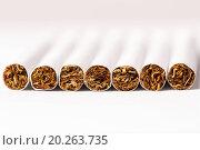 Купить «Smoking cigarettes causes cancer», фото № 20263735, снято 3 апреля 2013 г. (c) easy Fotostock / Фотобанк Лори