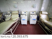 Купить «Plasma Collection Systems and medical chairs in blood bank laboratory», фото № 20393675, снято 10 ноября 2014 г. (c) Losevsky Pavel / Фотобанк Лори