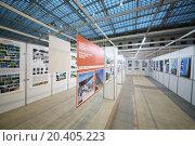 Купить «MOSCOW, RUSSIA - DEC 24, 2013: Selected architecture Emilia Romagna in 2010-2012 in Gostiny dvor.», фото № 20405223, снято 24 декабря 2013 г. (c) Losevsky Pavel / Фотобанк Лори