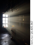 Купить «Altar and sunlight in window in dark eastern orthodox temple», фото № 20405967, снято 29 декабря 2013 г. (c) Losevsky Pavel / Фотобанк Лори