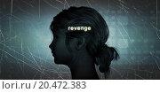 Купить «Woman Facing Revenge», фото № 20472383, снято 23 июля 2019 г. (c) PantherMedia / Фотобанк Лори