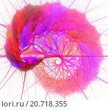 Абстрактный фрактальный рисунок. Стоковая иллюстрация, иллюстратор Елена Уткина / Фотобанк Лори