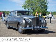 Купить «Автомобиль Rolls-Royce Phantom V на парадае ретроавтомобилей. Керимяки, Финляндия», фото № 20727767, снято 6 июня 2015 г. (c) Виктор Карасев / Фотобанк Лори
