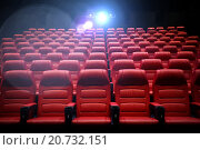 Купить «movie theater empty auditorium with seats», фото № 20732151, снято 16 января 2015 г. (c) Syda Productions / Фотобанк Лори