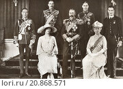 Купить «From left to right, The Prince of Wales later Edward VIII, Prince Henry the Duke of Gloucester, The Princess Mary, Princess Royal and Countess of Harewood...», фото № 20868571, снято 21 января 2019 г. (c) age Fotostock / Фотобанк Лори