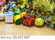 Купить «Christmas or New Year background», фото № 20927027, снято 22 марта 2019 г. (c) PantherMedia / Фотобанк Лори