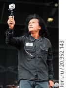 Купить «Rock on the Range Heavy Metal Music Festival, Mapfire Stadium, Columbus, OH, USA on Sunday, May 17, 2015 Featuring: Anthrax Where: Columbus, Ohio, United...», фото № 20952143, снято 17 мая 2015 г. (c) age Fotostock / Фотобанк Лори