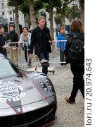 Купить «Gumball 3000 drivers and celebrities leave San Francisco Featuring: Tony Hawk Where: San Francisco, California, United States When: 28 May 2015 Credit: WENN.com», фото № 20974643, снято 28 мая 2015 г. (c) age Fotostock / Фотобанк Лори