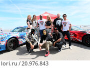 Купить «Gumball 3000 - Day 5 Checkpoint goes to Buttonwillow Raceway Park, where the drivers get to experience the Dodge Viper and Hellcat on the racetrack. Featuring...», фото № 20976843, снято 28 мая 2015 г. (c) age Fotostock / Фотобанк Лори