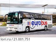 Купить «Irisbus Iliade», фото № 21001751, снято 9 августа 2014 г. (c) Art Konovalov / Фотобанк Лори