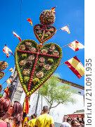 Купить «Festival of the Hearts in Tejina municipality. Tenerife island», фото № 21091935, снято 30 августа 2015 г. (c) age Fotostock / Фотобанк Лори