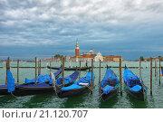 Вид с площади Сан Марко. Венеция. (2015 год). Стоковое фото, фотограф Борис Горбатенко / Фотобанк Лори