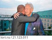 Купить «International Emmy Awards Reception (Emmy-Empfang) at China Club Featuring: Uwe Ochsenknecht, Wolf Gremm Where: Berlin, Germany When: 25 Jun 2015 Credit: AEDT/WENN.com», фото № 21123011, снято 25 июня 2015 г. (c) age Fotostock / Фотобанк Лори
