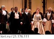 Купить «Broadway opening night for Amazing Grace at the Nederlander Theatre - Curtain Call. Featuring: Tom Hewitt, Chuck Cooper, Josh Young, Erin Mackey Where...», фото № 21176111, снято 16 июля 2015 г. (c) age Fotostock / Фотобанк Лори