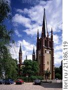 Купить «Werder, Stadtkirche/ Blick von Nord-West», фото № 21186119, снято 23 января 2020 г. (c) age Fotostock / Фотобанк Лори
