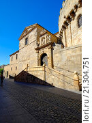 Купить «Cathedral Avila Spain Castile-Léon Medieval.», фото № 21304751, снято 22 сентября 2015 г. (c) age Fotostock / Фотобанк Лори