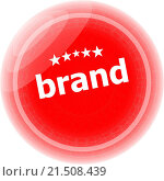 Купить «brand Labels, stickers, pointers, tags for your (web) page», фото № 21508439, снято 19 августа 2018 г. (c) easy Fotostock / Фотобанк Лори