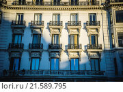 Купить «Royal Palace of Madrid, located in the area of the Habsburgs, classical architecture», фото № 21589795, снято 16 июля 2018 г. (c) easy Fotostock / Фотобанк Лори
