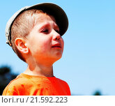 Купить «little boy crying outdoor», фото № 21592223, снято 24 августа 2019 г. (c) easy Fotostock / Фотобанк Лори