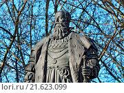 Monument of Duke Albrecht. Kaliningrad, Russia. Стоковое фото, фотограф Zoonar/Sergei Trofim / easy Fotostock / Фотобанк Лори