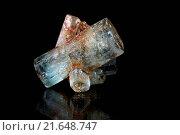 Купить «Beryl crystals», фото № 21648747, снято 11 июля 2020 г. (c) easy Fotostock / Фотобанк Лори