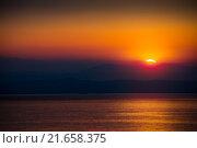 Купить «The Rising Sun», фото № 21658375, снято 18 октября 2018 г. (c) PantherMedia / Фотобанк Лори