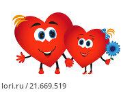 Купить «Сердечки, день влюбленных», иллюстрация № 21669519 (c) Neta / Фотобанк Лори