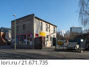 Купить «Berlin, Germany, in the development Schoeneberger Str. In Berlin-Kreuzberg», фото № 21671735, снято 27 февраля 2015 г. (c) Caro Photoagency / Фотобанк Лори
