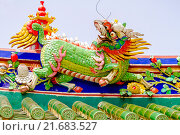Купить «Декоративные украшения храма, Таиланд», эксклюзивное фото № 21683527, снято 25 октября 2015 г. (c) Хайрятдинов Ринат / Фотобанк Лори