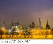Измайловский кремль (2016 год). Редакционное фото, фотограф Сергей Макаров / Фотобанк Лори